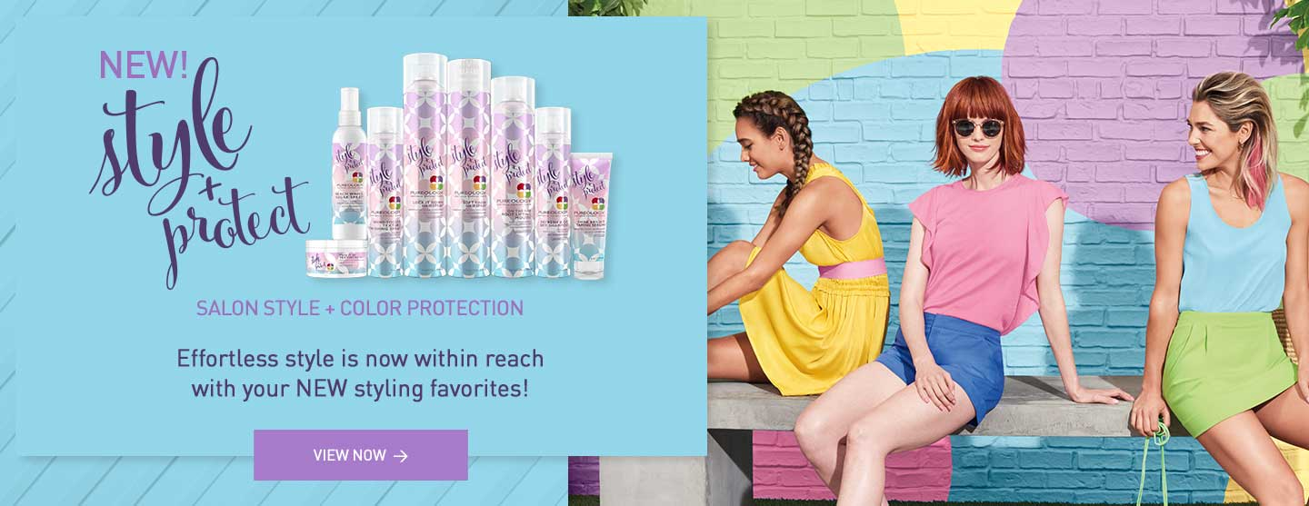 Shop new Style + Protect Hair Styling Products for Color-treated Hair