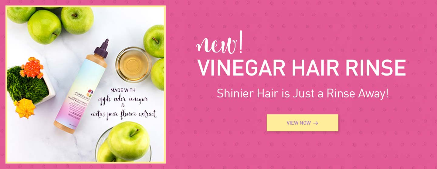 Vinegar Hair Rinse Clarifying Hair Product made with Apple Cider Vinegar