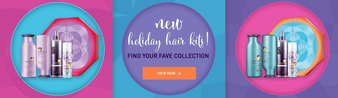 Shop new Salon Professional Pureology Holiday Hair Care Gift Sets for Color-treated Hair