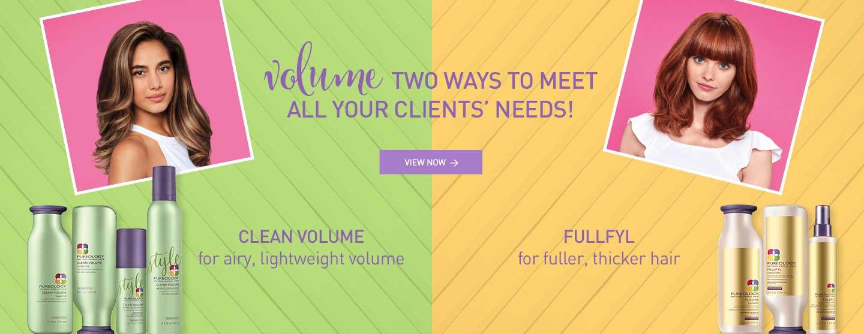 Clean Volume Lightweight Bouncy Volume and Fullfyl for Thicker, Fuller Hair