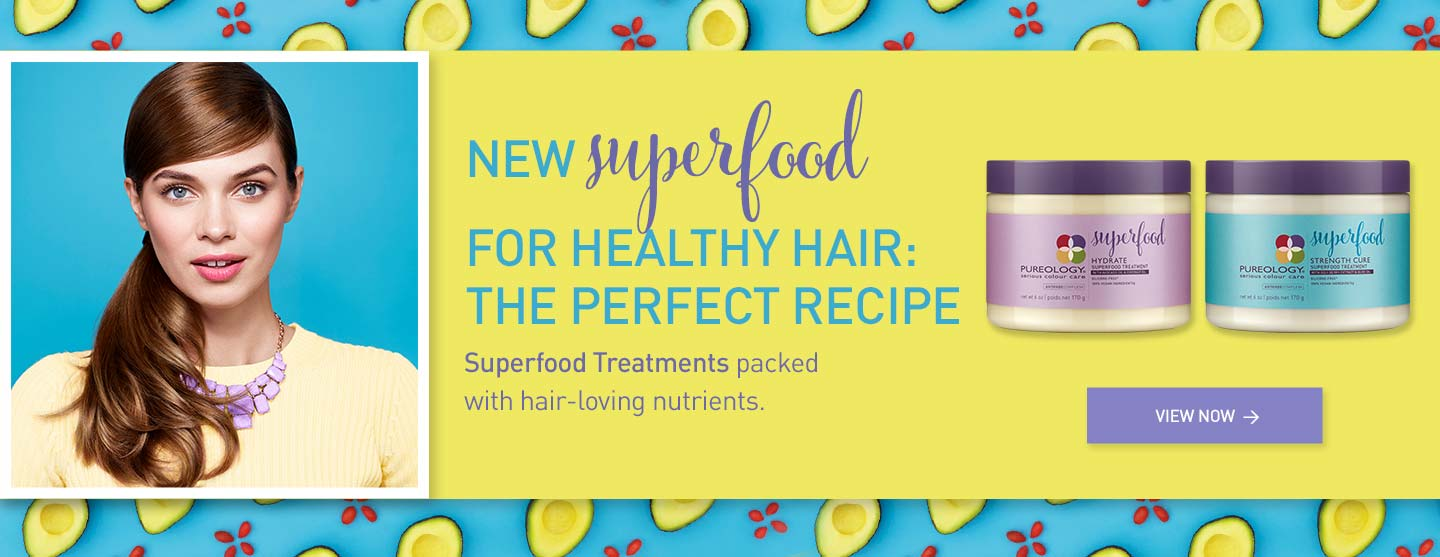 New Superfood Treatment Hair Masks for dry or damaged hair